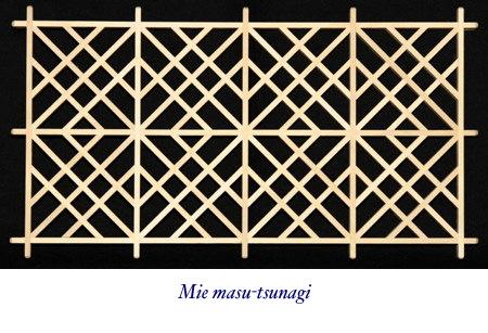 D Amp M King Shoji Square Patterns Masu